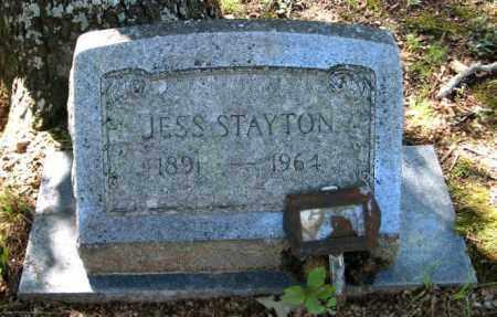 STAYTON, JESS - Randolph County, Arkansas   JESS STAYTON - Arkansas Gravestone Photos