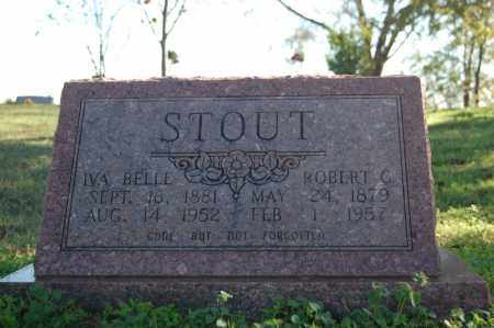 STOUT, IVA BELLE - Randolph County, Arkansas | IVA BELLE STOUT - Arkansas Gravestone Photos