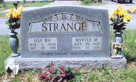 STRANGE, OSA WILLIAM - Randolph County, Arkansas | OSA WILLIAM STRANGE - Arkansas Gravestone Photos