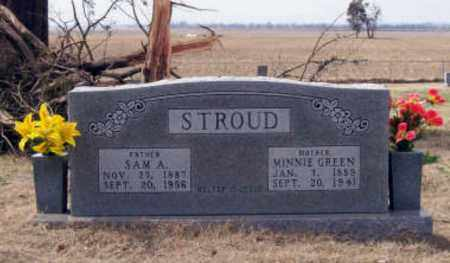 GREEN STROUD, MINNIE - Randolph County, Arkansas | MINNIE GREEN STROUD - Arkansas Gravestone Photos