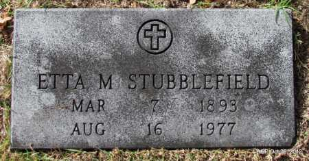 STUBBLEFIELD, ETTA - Randolph County, Arkansas | ETTA STUBBLEFIELD - Arkansas Gravestone Photos