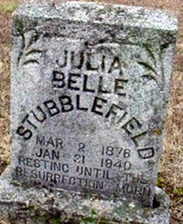 STUBBLEFIELD, JULIA BELLE - Randolph County, Arkansas | JULIA BELLE STUBBLEFIELD - Arkansas Gravestone Photos