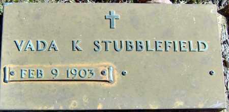 STUBBLEFIELD, VADA - Randolph County, Arkansas | VADA STUBBLEFIELD - Arkansas Gravestone Photos