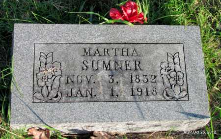 SUMNER, MARTHA - Randolph County, Arkansas | MARTHA SUMNER - Arkansas Gravestone Photos