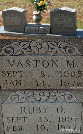 SUTTON, VASTON M - Randolph County, Arkansas | VASTON M SUTTON - Arkansas Gravestone Photos