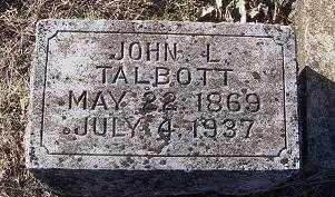 TALBOTT, JOHN L. - Randolph County, Arkansas | JOHN L. TALBOTT - Arkansas Gravestone Photos