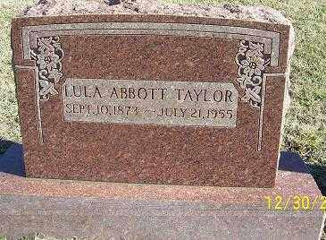 ABBOTT, LULA MAE - Randolph County, Arkansas | LULA MAE ABBOTT - Arkansas Gravestone Photos