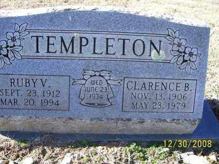 TEMPLETON, RUBY V. - Randolph County, Arkansas | RUBY V. TEMPLETON - Arkansas Gravestone Photos