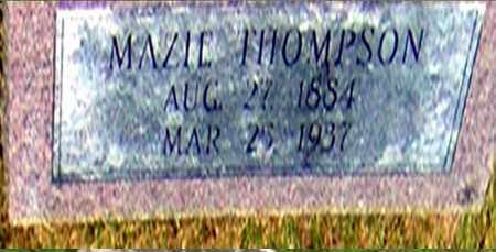 THOMPSON, MAZIE - Randolph County, Arkansas | MAZIE THOMPSON - Arkansas Gravestone Photos