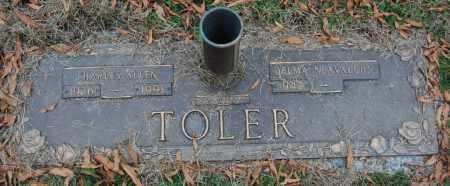 TOLER, CHARLES ALLEN - Randolph County, Arkansas | CHARLES ALLEN TOLER - Arkansas Gravestone Photos