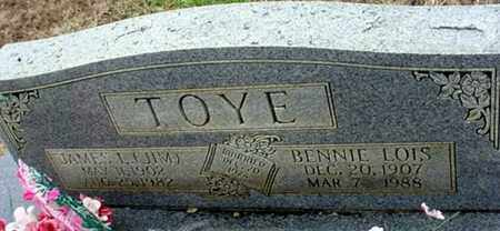 TOYE, JAMES LEONARD - Randolph County, Arkansas | JAMES LEONARD TOYE - Arkansas Gravestone Photos