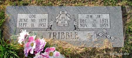 "TRIBBLE, JIM ""JR"" - Randolph County, Arkansas 