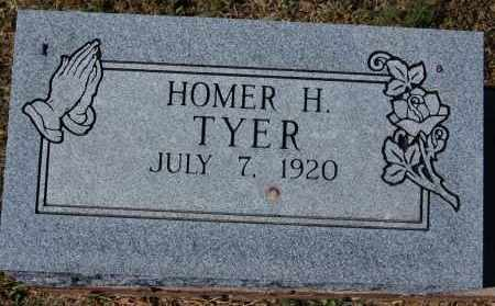 TYER, HOMER H. - Randolph County, Arkansas | HOMER H. TYER - Arkansas Gravestone Photos
