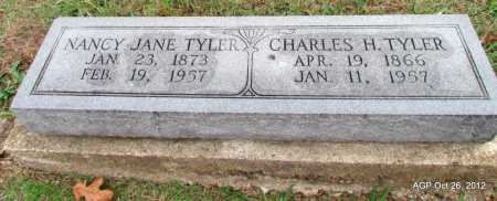 WYATT TYLER, NANCY JANE - Randolph County, Arkansas | NANCY JANE WYATT TYLER - Arkansas Gravestone Photos