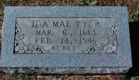 TYER, IDA MAE - Randolph County, Arkansas | IDA MAE TYER - Arkansas Gravestone Photos