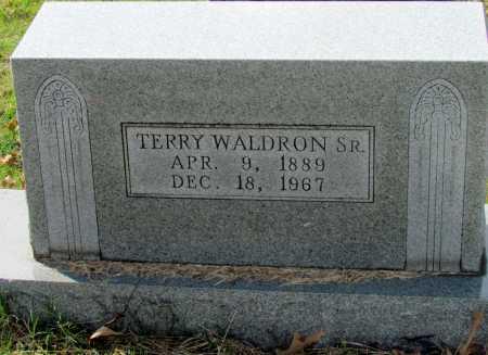 WALDRON, SR, TERRY - Randolph County, Arkansas | TERRY WALDRON, SR - Arkansas Gravestone Photos