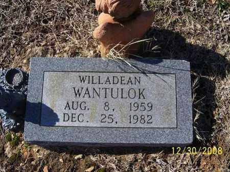 WANTULOK, WILLADEAN - Randolph County, Arkansas | WILLADEAN WANTULOK - Arkansas Gravestone Photos