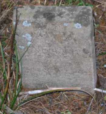WARD, INFANT - Randolph County, Arkansas | INFANT WARD - Arkansas Gravestone Photos