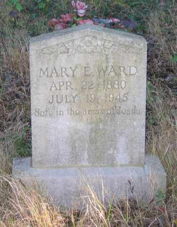 WARD, MARY E. - Randolph County, Arkansas | MARY E. WARD - Arkansas Gravestone Photos