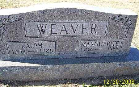 WEAVER, RALPH - Randolph County, Arkansas | RALPH WEAVER - Arkansas Gravestone Photos