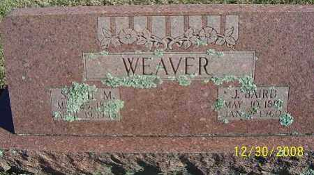 WEAVER, SALLIE M. - Randolph County, Arkansas | SALLIE M. WEAVER - Arkansas Gravestone Photos