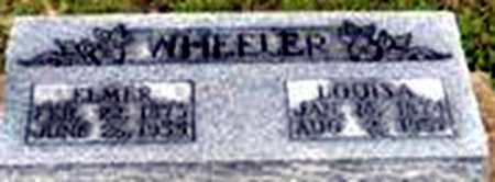 MITCHELL WHEELER, LOUISA - Randolph County, Arkansas | LOUISA MITCHELL WHEELER - Arkansas Gravestone Photos