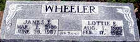 WHEELER, LOTTIE EVELYN - Randolph County, Arkansas | LOTTIE EVELYN WHEELER - Arkansas Gravestone Photos