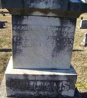 WILLIAMS, ISORA - Randolph County, Arkansas | ISORA WILLIAMS - Arkansas Gravestone Photos