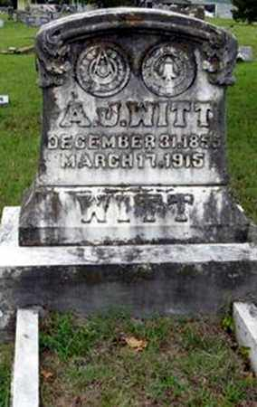 WITT, ALMUS J - Randolph County, Arkansas | ALMUS J WITT - Arkansas Gravestone Photos