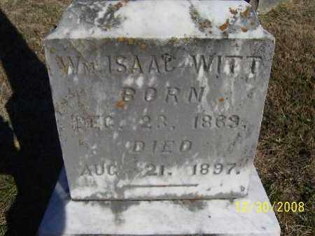 WITT, WILLIAM ISAAC - Randolph County, Arkansas | WILLIAM ISAAC WITT - Arkansas Gravestone Photos