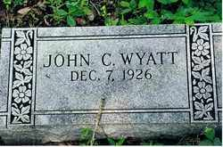 WYATT, JOHN C - Randolph County, Arkansas | JOHN C WYATT - Arkansas Gravestone Photos