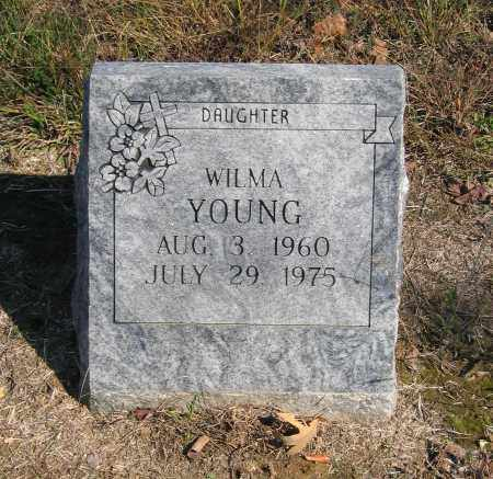 YOUNG, WILMA - Randolph County, Arkansas | WILMA YOUNG - Arkansas Gravestone Photos