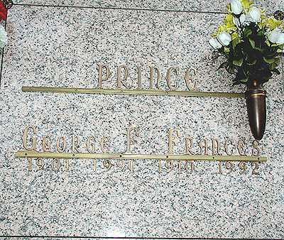 PRINCE, GEORGE FRANCIS - Saline County, Arkansas | GEORGE FRANCIS PRINCE - Arkansas Gravestone Photos
