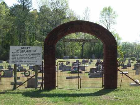 * ANTIOCH CEMETERY, GATE - Saline County, Arkansas | GATE * ANTIOCH CEMETERY - Arkansas Gravestone Photos