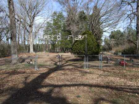 * JAMES CEMETERY, PHOTO AND DIRECTIONS - Saline County, Arkansas | PHOTO AND DIRECTIONS * JAMES CEMETERY - Arkansas Gravestone Photos