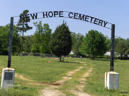 * NEW HOPE CEMETERY, PHOTO AND DIRECTIONS - Saline County, Arkansas | PHOTO AND DIRECTIONS * NEW HOPE CEMETERY - Arkansas Gravestone Photos