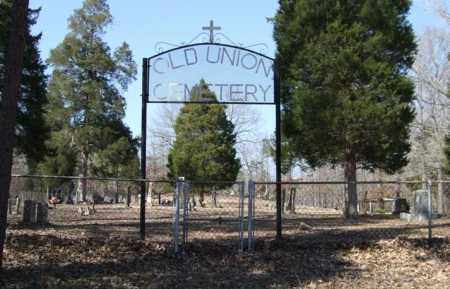 * OLD UNION CEMETERY, PHOTO AND DIRECTIONS - Saline County, Arkansas | PHOTO AND DIRECTIONS * OLD UNION CEMETERY - Arkansas Gravestone Photos