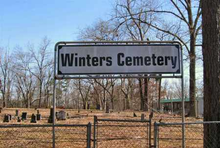 * WINTERS CEMETERY, PHOTO AND DIRECTIONS - Saline County, Arkansas | PHOTO AND DIRECTIONS * WINTERS CEMETERY - Arkansas Gravestone Photos
