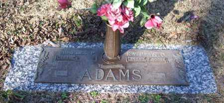 ADAMS, KATHRYN O. - Saline County, Arkansas | KATHRYN O. ADAMS - Arkansas Gravestone Photos