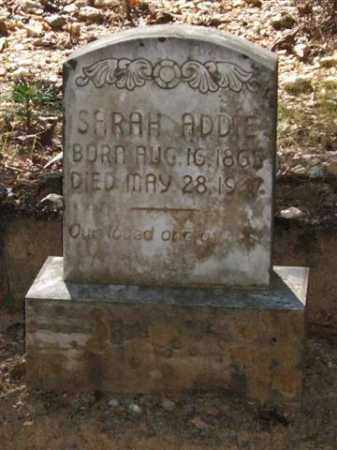 ADDIE, SARAH - Saline County, Arkansas | SARAH ADDIE - Arkansas Gravestone Photos