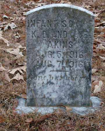 AKINS, INFANT SON - Saline County, Arkansas | INFANT SON AKINS - Arkansas Gravestone Photos