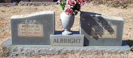 ALBRIGHT, COTSY  E. - Saline County, Arkansas | COTSY  E. ALBRIGHT - Arkansas Gravestone Photos