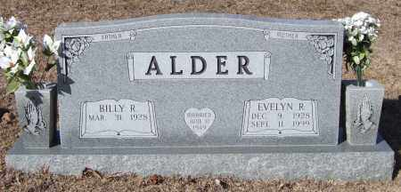 ALDER, EVELYN R. - Saline County, Arkansas | EVELYN R. ALDER - Arkansas Gravestone Photos