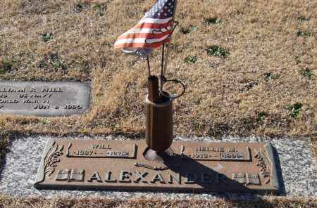 ALEXANDER, WILL - Saline County, Arkansas | WILL ALEXANDER - Arkansas Gravestone Photos