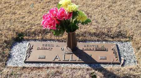 ALLEN, BERTIE M. - Saline County, Arkansas | BERTIE M. ALLEN - Arkansas Gravestone Photos
