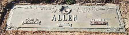 ALLEN, CARRIE L. - Saline County, Arkansas | CARRIE L. ALLEN - Arkansas Gravestone Photos