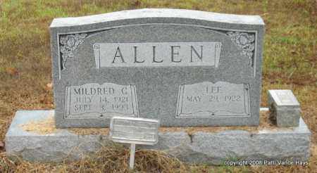 ALLEN, MILDRED G. - Saline County, Arkansas | MILDRED G. ALLEN - Arkansas Gravestone Photos