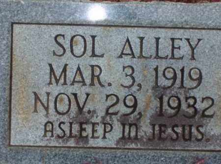 ALLEY, SOL - Saline County, Arkansas | SOL ALLEY - Arkansas Gravestone Photos