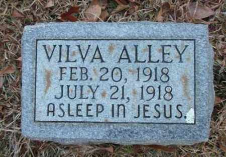 ALLEY, VILVA - Saline County, Arkansas | VILVA ALLEY - Arkansas Gravestone Photos