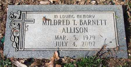 ALLISON, MILDRED T. - Saline County, Arkansas | MILDRED T. ALLISON - Arkansas Gravestone Photos